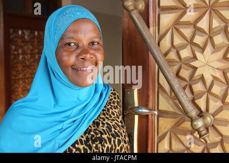 Die Nationale Moschee (qadafi Moschee), Kampala, Uganda, Afrika Stockbild
