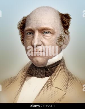 Erastus Brigham Bigelow (2. April 1814 - Dezember 6, 1879) war ein US-amerikanischer Erfinder der Webmaschinen. Er zeigte ein erfindergeist im frühen Alter von 14, als er eine Maschine von Leitungen Kabel herstellen, erfunden. Er entwickelt eine Hand für Hosenträger Gurt Webstuhl. Seine Arbeit über Stenografie (1832), ein kurzes Handbuch auf kurzschrift schreiben, geschrieben wurde und zu dieser Zeit veröffentlicht. 1838 erfand er einen Webstuhl für das Weben geknotet Plaids und später einen Power loom Trainer Spitze zu weben. Stockbild