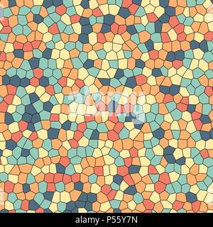 Muster Hintergrund mit einer Glasmalerei Wirkung Stockbild