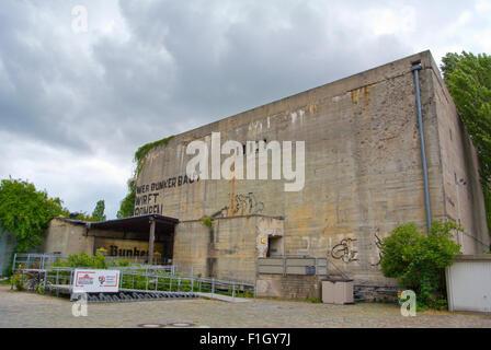 Berlin Story Bunker, Kreuzberg, Berlin, Deutschland Stockbild