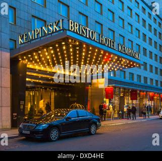 Kempinski Hotel Bristol Berlin, Deutschland, Europa Stockbild