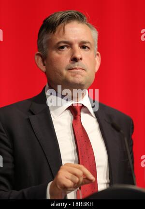 JONATHAN ASHWORTH MP, 2018 Stockbild