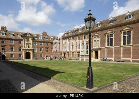 St. Catherine's College, Cambridge, Cambridgeshire, England, Vereinigtes Königreich, Europa Stockbild