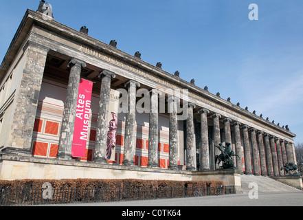 Altes Museum, Berlin, Deutschland Stockbild
