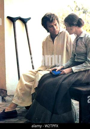 DER BETÖRT 1971 Universal Pictures Film mit Clint Eastwood und Geraldine Page Stockbild