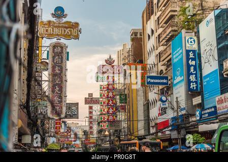 Chinatown, Bangkok, Thailand, Südostasien, Asien Stockbild