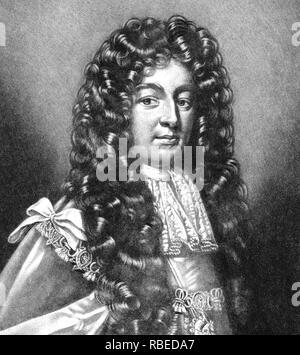 CHARLES SEYMOUR, 6. Herzog von Somerset (1662-1748) Britischer peer berühmt für seine Eitelkeit Stockbild
