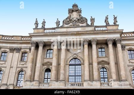 Universität Berlin am Babelplatz Platz Stockbild