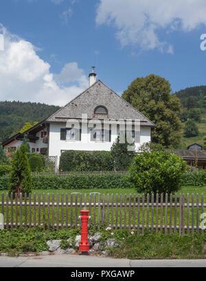 Wohnhaus, Schliersee, Oberbayern, Bayern, Deutschland, Europa ich Wohnhaus, Schliersee, Oberbayern, Bayern, Deutschland, Europa I Stockbild