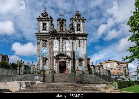 Santo Idelfonso Kirche, Porto, Portugal Stockbild