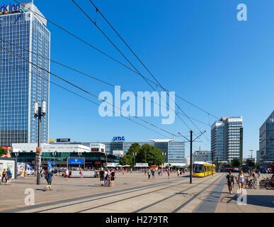 Alexanderplatz, Berlin, Deutschland Stockbild