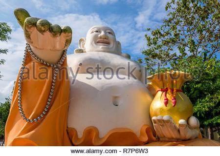 Thailand, Trang, buddhistische Tempel Stockbild
