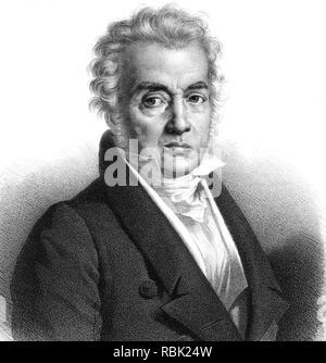 - JACQUES LOUIS DAVID (1748-1825), französischer Maler Stockbild