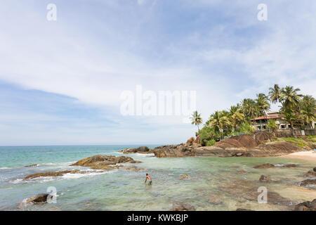 Asien - Sri Lanka - induruwa - wo Paradies fühlt sich wirklich zu sein, in der Nähe von Stockbild