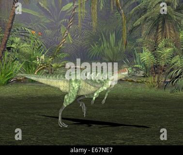Dinosaurier Lesothosaurus / Dinosaurier Lesothosaurus Stockbild