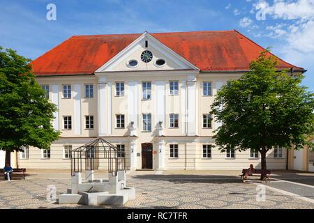 Der ehemalige österreichische Kaserne in der Altstadt, Günzburg, Schwaben, Bayern, Deutschland, Europa ich Ehemalige österreichischen Kaserne in der Altstadt, Günzburg, S Stockbild