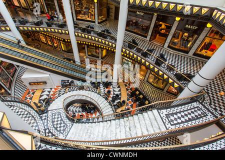 Europa, Deutschland, Berlin, Friedrichstraße, das shopping Center Quartier 206 Stockbild