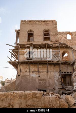 Munawar Ahmed Refa-Haus, Rotes Meer, Farasan, Saudi-Arabien Stockbild