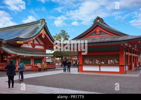 Fushimi Inari Schrein, Kyoto, Japan, Asien Stockbild