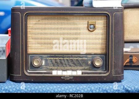 Alte deutsche Radio, Deutschland Stockbild