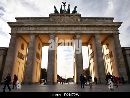 Brandenburger Tor, Berlin, Deutschland, Europa Stockbild