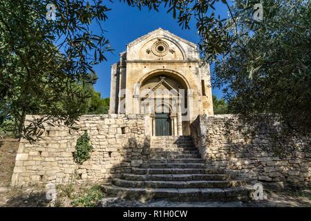 Chapelle St. Gabriel, Fontvielle, Provence Stockbild