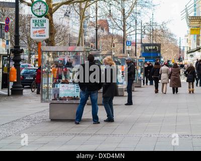 Kurfürstendamm, Berlin, Deutschland, Europa Stockbild