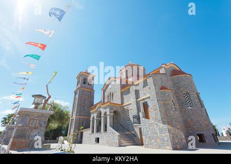 Kreta - Griechenland - Kapelle von Sisi, Europa Stockbild