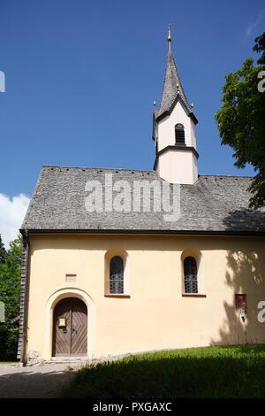 Gotische Kapelle St. Georg am Weinberg, Schliersee, Oberbayern, Bayern, Deutschland, Europa ich gotische Kapelle St. Georg am Weinberg, Schliersee, Oberba Stockbild