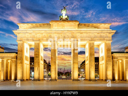 Tor in Berlin Stockbild