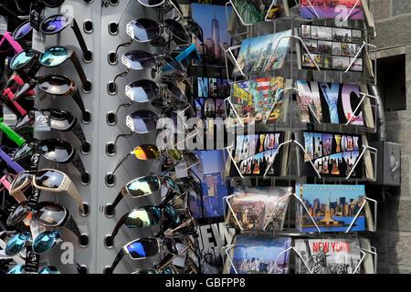Postkarten-NewYork Stockbild