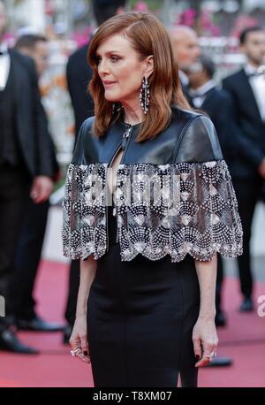 Julianne Moore, 2019 Cannes Stockbild