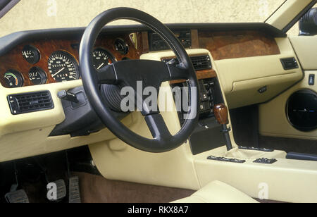 Innenraum eines MVS Venturi GT 1987 Stockbild