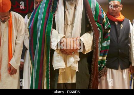 Sufi Moslems beten, Paris, Frankreich, Europa Stockbild