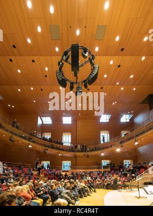 Pierre Boulez Saal in der Barenboim sagte Akademie Berlin. Von Gehry entworfen. Stockbild