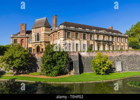 England, London, Greenwich Eltham Palace, das Art Deco ehemaliges Haus der Millionäre Stephen und Virginia Courtauld Stockbild