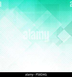 Zusammenfassung Hintergrund mit einem Low Poly und Rasterpunkte design Stockbild