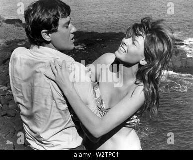 Flug verloren 1969 Universal Pictures Film mit Bobby Van und Anne Francis Stockbild