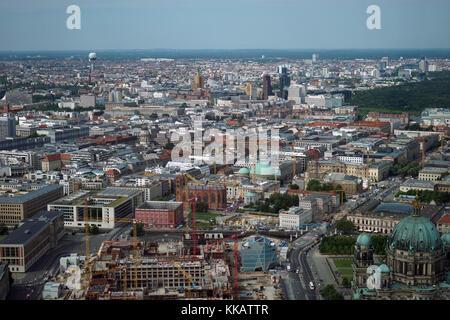Luftbild, Berlin, Deutschland, Europa Stockbild