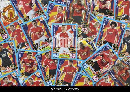 Alexis Sanchez Manchester United l Stockbild