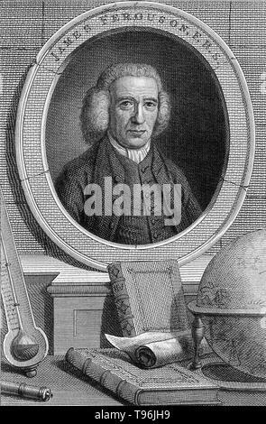 James Ferguson (April 25,1710 - 17. November 1776) war ein schottischer Astronom und Instrumentenbauer. Nachdem sein Vater brachte ihn zu schreiben, wurde er zum Gymnasium für drei Monate und das war alles, was die formale Bildung, die er je bekommen. Im Jahre 1720 wurde er zu einem benachbarten Bauernhof Schafe geschickt, wo er sich selbst, indem sie Modelle von Maschinen bei Laune zu halten, und in der Nacht studierte er die Sterne. Stockbild