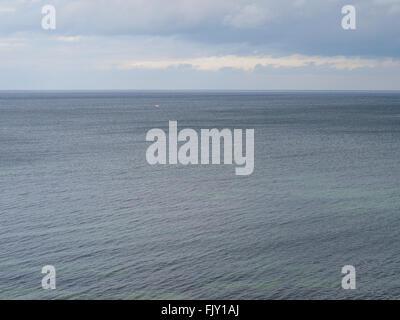 Malerische Aussicht auf Meer gegen Himmel Stockbild