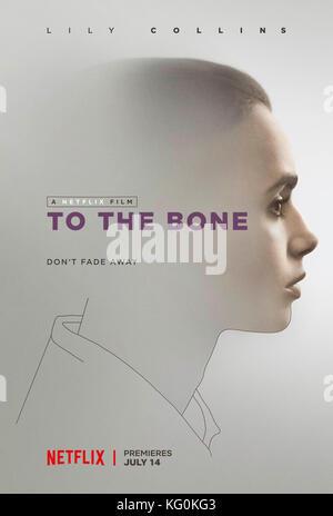 Release Datum: Juli 14, 2017 Titel: bis auf die Knochen Studio: Regisseur: Marti Noxon plot: Eine junge Frau wird Stockbild