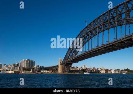 Sydney Harbour Bridge. Stockbild