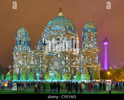 Festival of Lights Berlin 2012 Stockbild