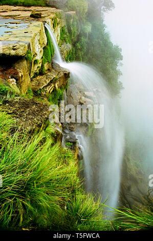 Wasserfall, Andhra Pradesh, Indien, Asien Stockbild