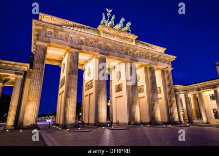 Brandenburger Tor in Berlin, Deutschland. Brandenburger Tor in Berlin, Deutschland. Stockbild