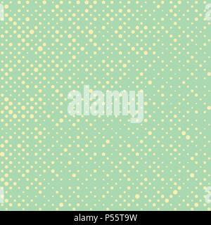 Dekorativer Hintergrund mit einer Polka Dot Pattern Stockbild