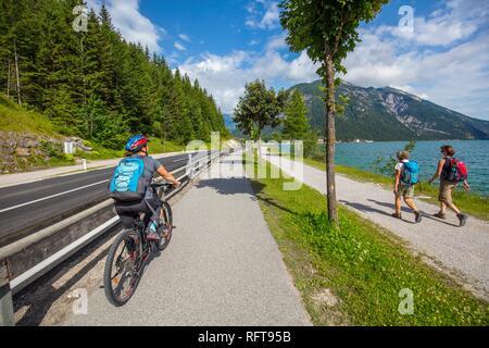 Achen See, Seespitz, Tirol, Österreich, Europa Stockbild