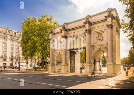 Marble Arch, London, England, Vereinigtes Königreich, Europa Stockbild